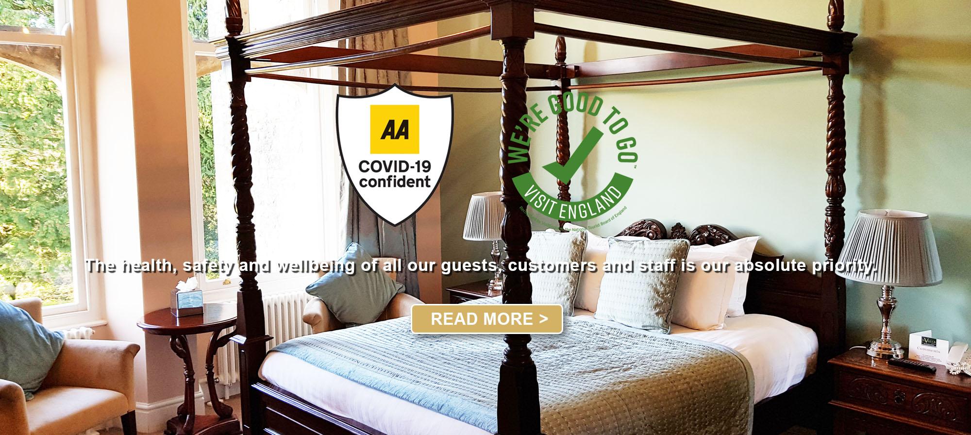Covid secure hotel in cumbria lakes